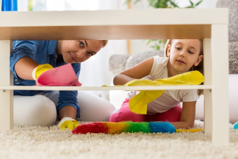 Ways to Encourage Your Kids to Help With Spring Cleaning