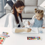 Girls Painting ideas for a staycation