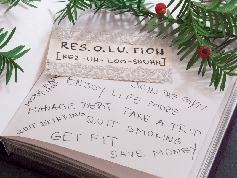 List of Resolutions New Year's Resolution Gift Guide